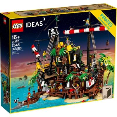 樂高LEGO IDEAS系列 - LT21322 梭魚灣海盜