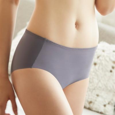 曼黛瑪璉 16SS紓壓好動-保氧 低腰寬邊三角無痕內褲(時髦灰)