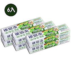 德恩奈 清淨涼牙膏156g-6入