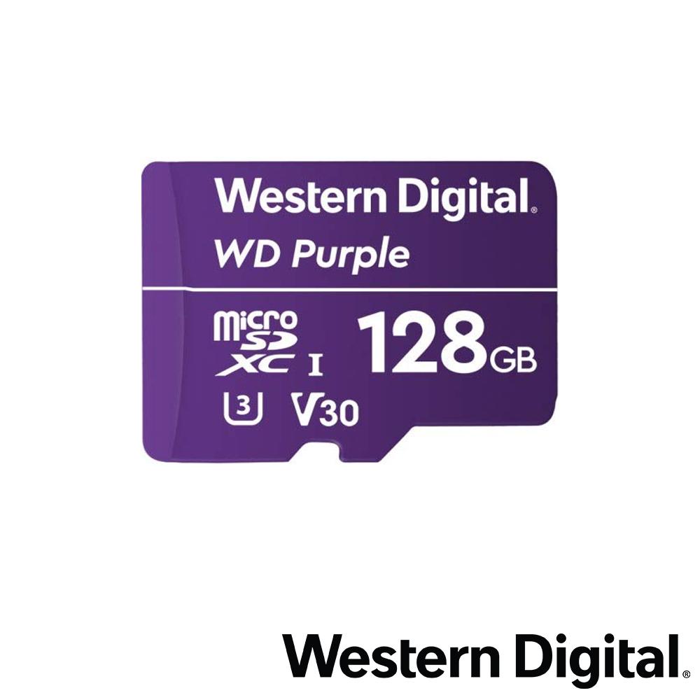 WD 紫標 MicroSDXC UHS-I U3(V30) 128GB 監控記憶卡 @ Y!購物