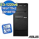 (無卡分期-12期) ASUS TS100-E9 16G/1TBx2/2016STD