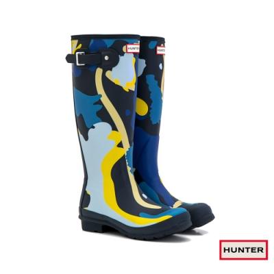 HUNTER - 女鞋 - Original印花霧面長靴