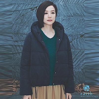 earth music 鈴木京香著用款-中空纖維ALINE外套/大衣