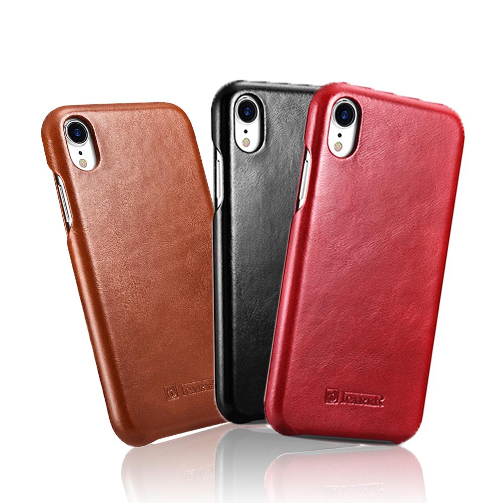 iStyle iPhoneXR 6.1吋 真皮手機皮套