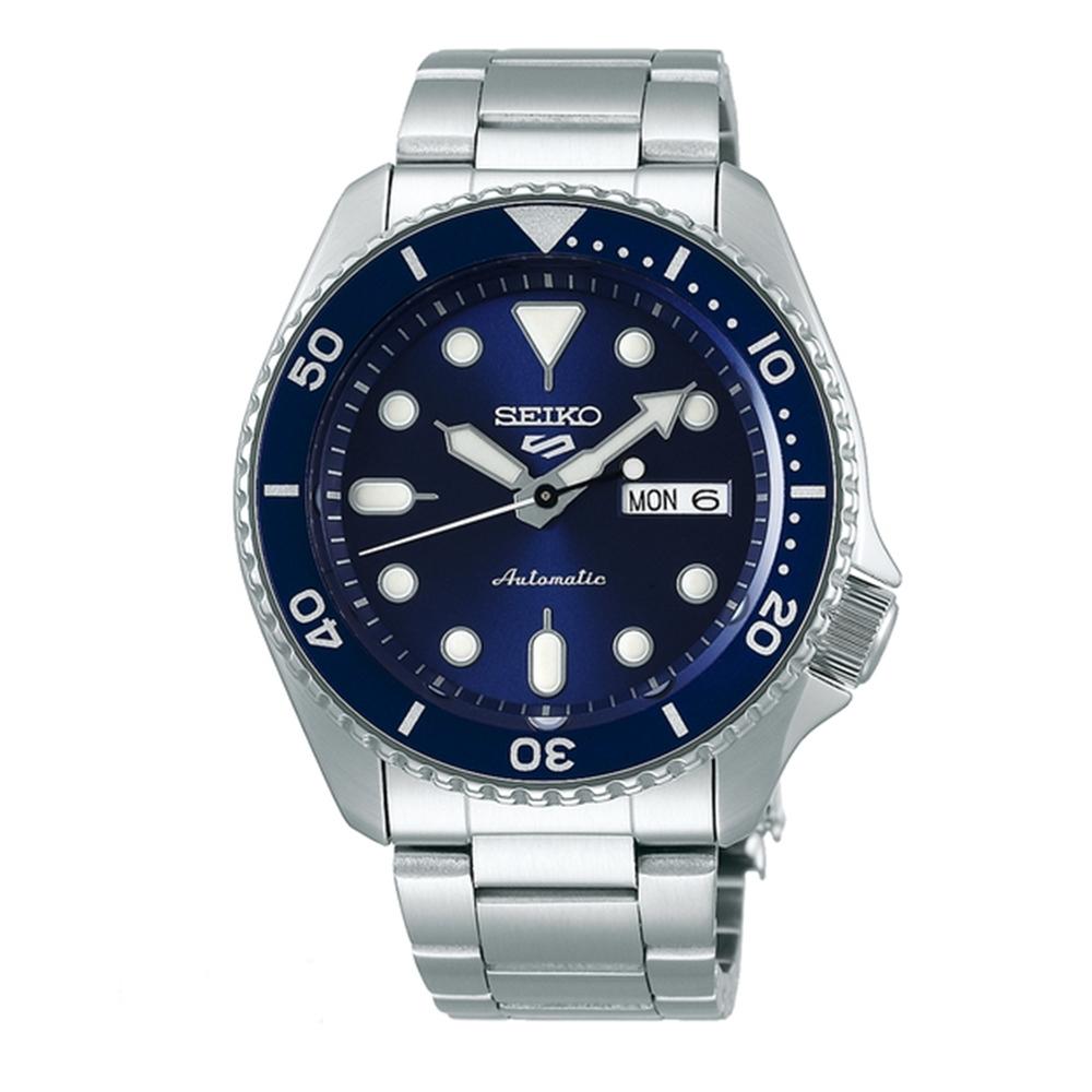 SEIKO 精工 5 Sporst 藍水鬼機械腕錶(SRPD51K1)x42.5mm