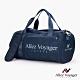 【奧莉薇閣】旅行袋 運動包 行李收納袋 側背包 斜背包 圓筒大容量(海軍藍) product thumbnail 2