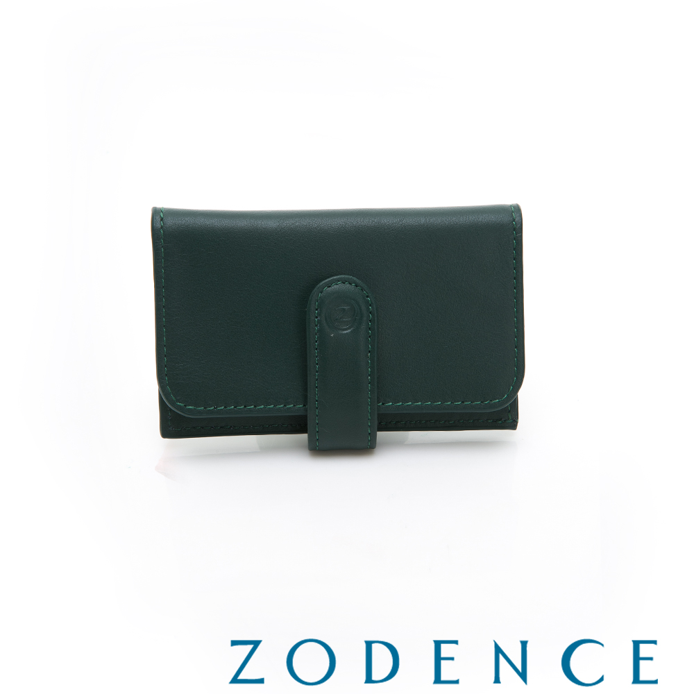 ZODENCE COMBO進口牛皮名片夾 深綠 product image 1
