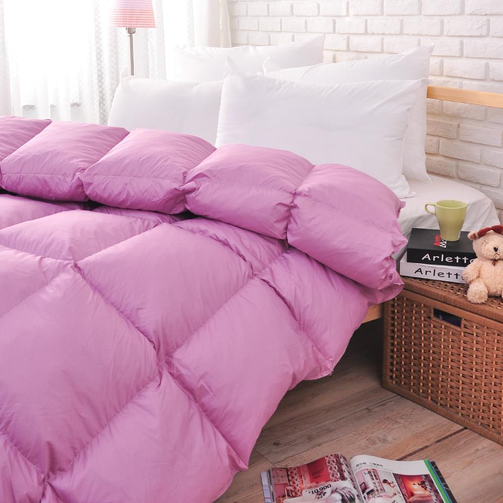 亞曼達Amanda 純天然水鳥雙人羽絨被(100%羽絲絨)--丁香紫 (1被2枕組合)