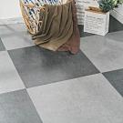樂嫚妮 塑膠PVC仿深色砂岩石紋DIY地板9片一坪
