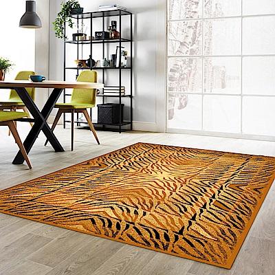 登伯格 - 奔馳 進口地毯-燃虎紋 (中款-140x190cm)