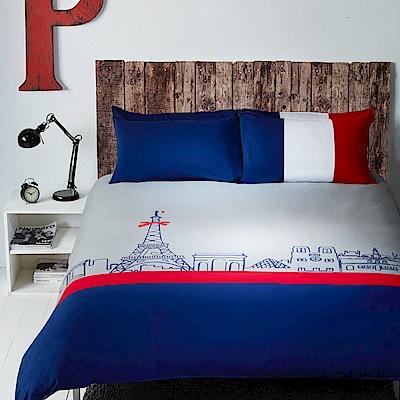 Yvonne Collection 巴黎加大三件式被套組+壓縮枕一對