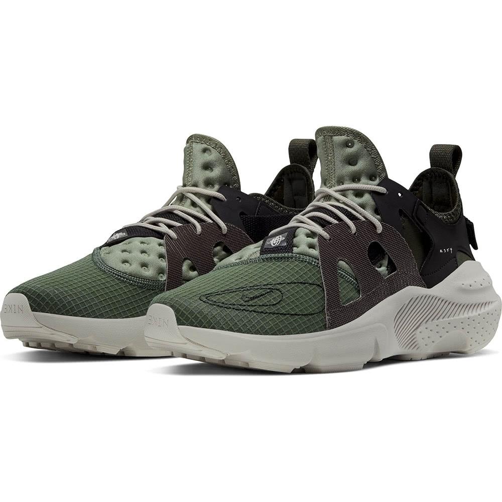 NIKE 運動鞋 休閒 訓練 輕量 透氣  男鞋 綠 BQ5102300 NIKE HUARACHE-TYPE