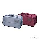 RAIN DEER 多功能旅行雙口袋/收納包/盥洗化妝包(隨機出貨)