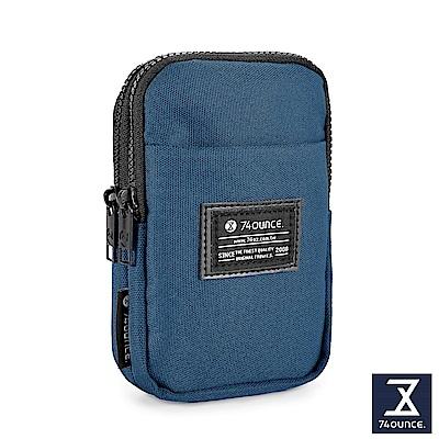 74盎司 Life 雙層尼龍腰掛包[G-1034-LI-M]藍