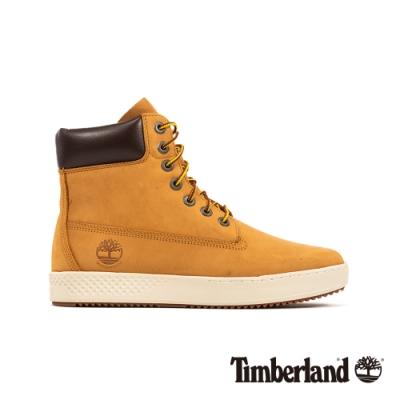 Timberland 男款小麥色磨砂革防水繫帶6吋運動靴|A253Z