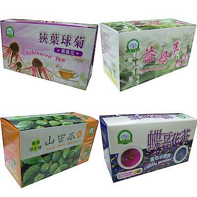 大雪山農場 養生茶品(眾多口味任選/共5盒)