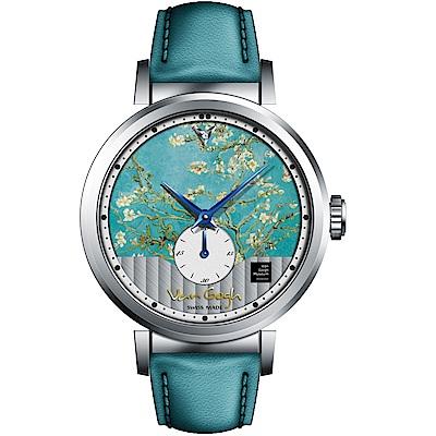 梵谷Van Gogh Swiss Watch小秒盤梵谷經典名畫女錶(C-SLLA-18)