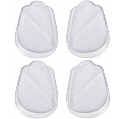 JHS杰恆社abe085口鞋墊內外側磨損矽膠內八外八矯正墊女款正O後墊XO型腿矯正