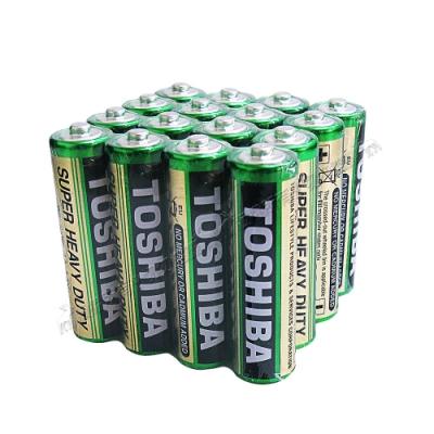 東芝TOSHIBA 環保碳鋅電池 (3號16顆入)