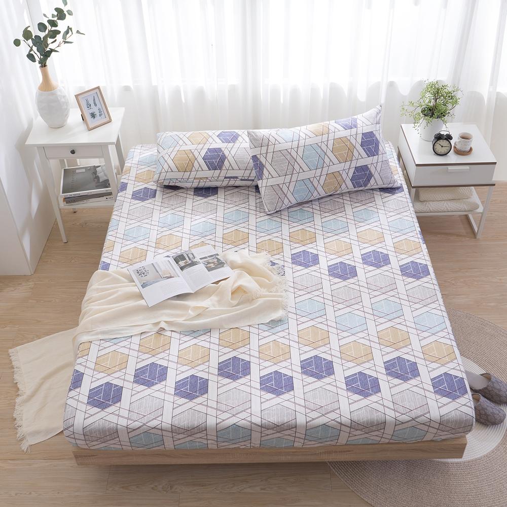 (限時下殺$888) MONTAGUT-精梳棉枕套床包三件組或涼被-多款任選均一價