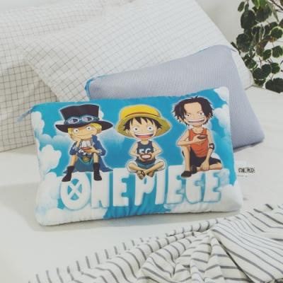 絲薇諾  正版授權  兒童天絲水洗枕1入 - 航海王-冒險三兄弟