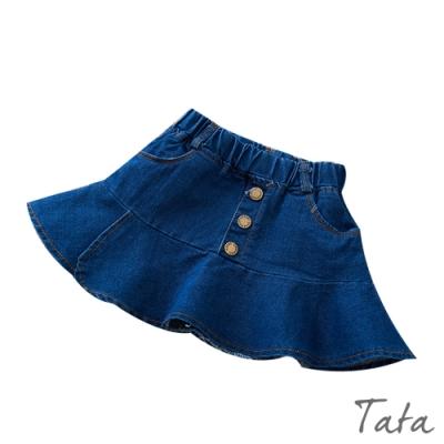 兒童 素色牛仔短裙 TATA KIDS