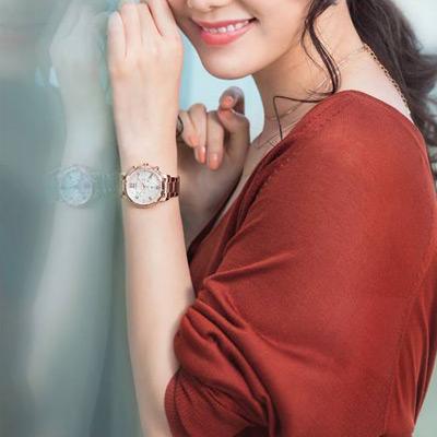 CITIZEN xC 花漾年華計時腕錶(FB1433-52W)38mm
