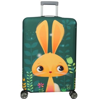 新一代 長耳兔行李箱保護套(21-24吋行李箱適用)一個