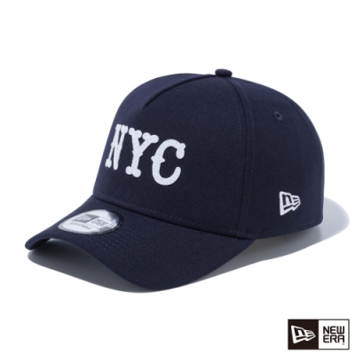 NEW ERA 9FORTY 940AF 毛氈布縫LOGO NYC 海軍藍 棒球帽