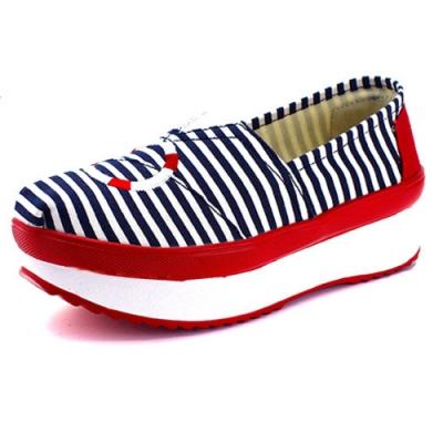 韓國KW美鞋館 (現貨+預購) 不敗經典條紋海軍風健走鞋-藍
