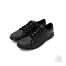 艾樂跑Arriba 男款簡約百搭休閒鞋-黑/白 (AB-8094)