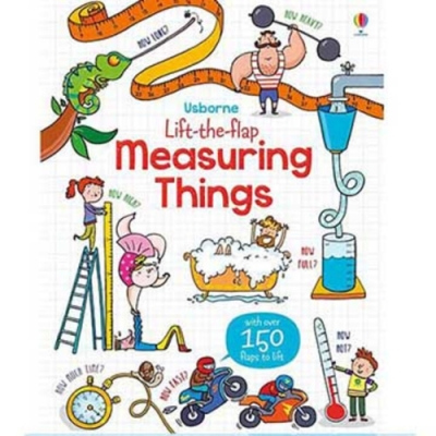 Lift-The-Flap Measuring Things 認識測量翻翻學習書