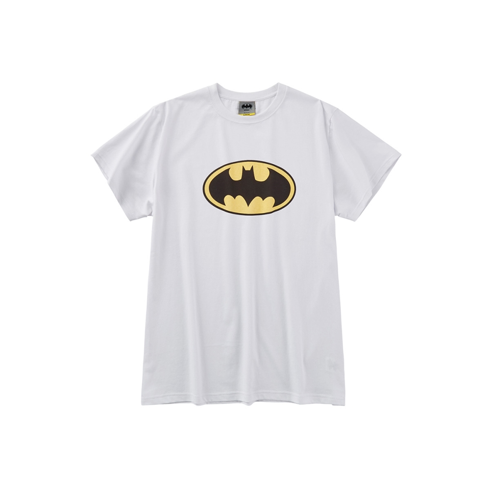CACO-蝙蝠俠標誌短T-情侶款-(三色)-男【SDC017】