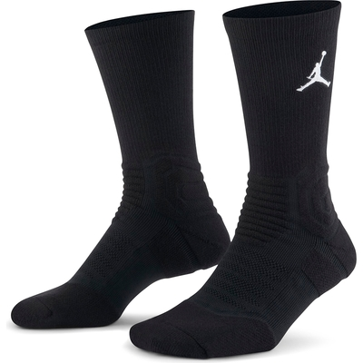 NIKE  襪子 中筒襪 運動襪 喬丹 籃球襪 訓練襪 2雙組 黑 SX5854010 U J FLIGHT CREW