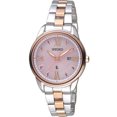 SEIKO精工LUKIA廣告款花漾時光太陽能腕錶(SUT362J1)