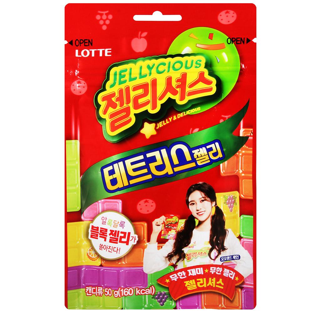 Lotte樂天 俄羅斯方塊造型軟糖(50g)