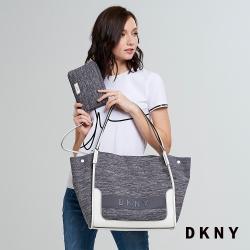 DKNY 休閒簡約手提包 灰