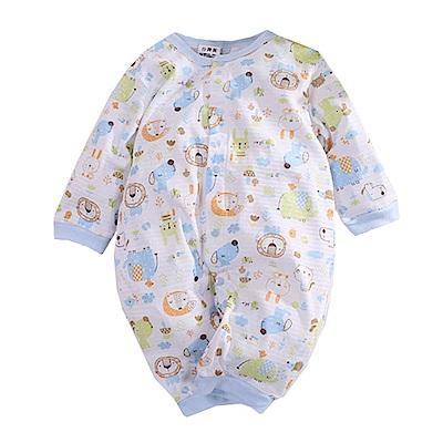印花薄款長袖連身衣 k50630 魔法Baby