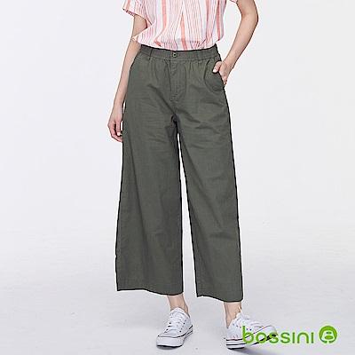 bossini女裝-棉麻長褲01灰