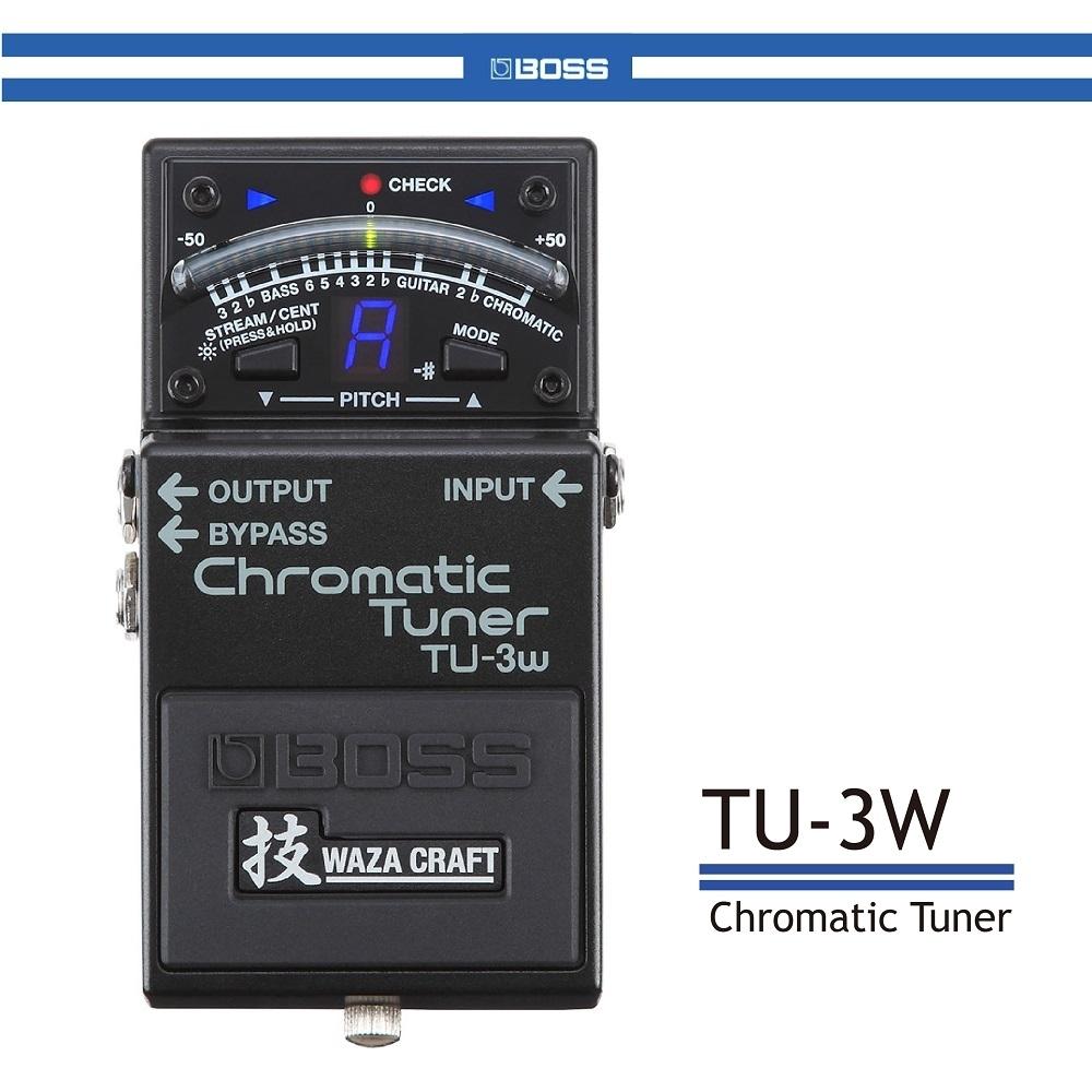 BOSS TU-3W半音階調音器/贈導線/公司貨保固