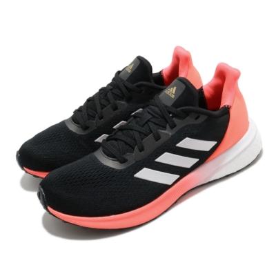 adidas 慢跑鞋 Astrarun 運動休閒 女鞋 愛迪達 三線 透氣 球鞋穿搭 Boost 黑 橘 EH1528