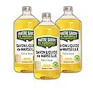 法國玫翠思 馬賽液體皂補充瓶1000ML經典皂香x3入