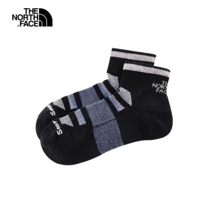 The North Face北面男女款黑色美麗諾羊毛運動襪|3CNOKD9