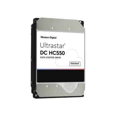 WD 威騰 Ultrastar DC HC550 16TB 3.5吋 7200轉 512MB快取 企業級硬碟 WUH721816ALE6L4(0F38462)