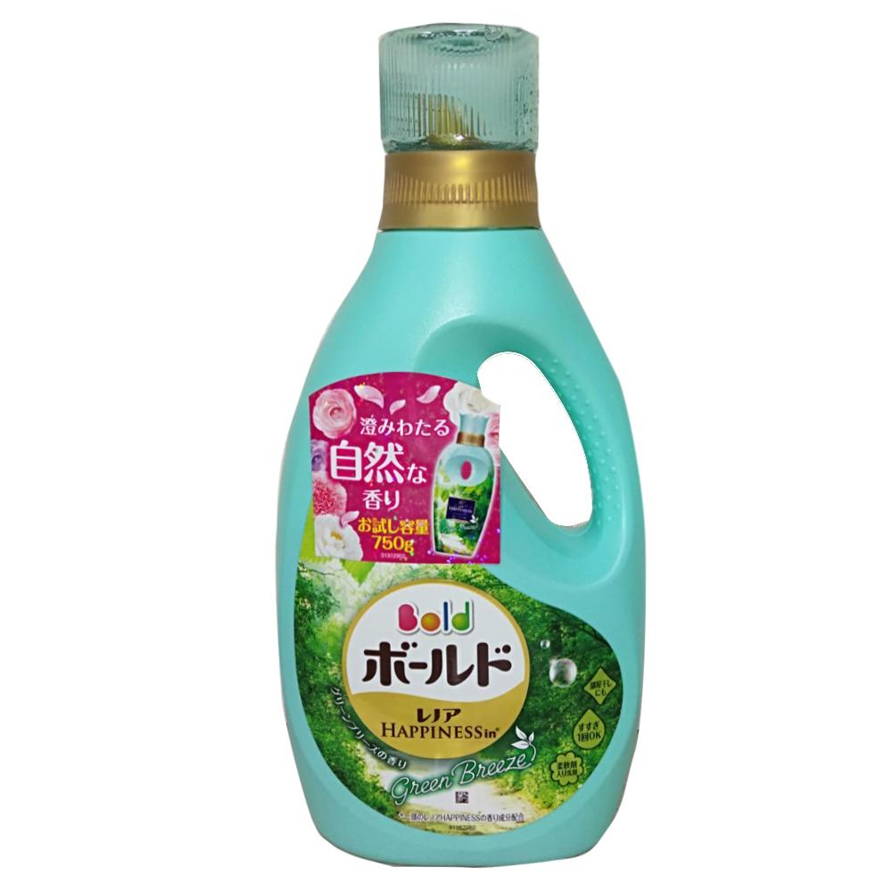 日本P&G微風綠草柔軟洗衣精(750ml)