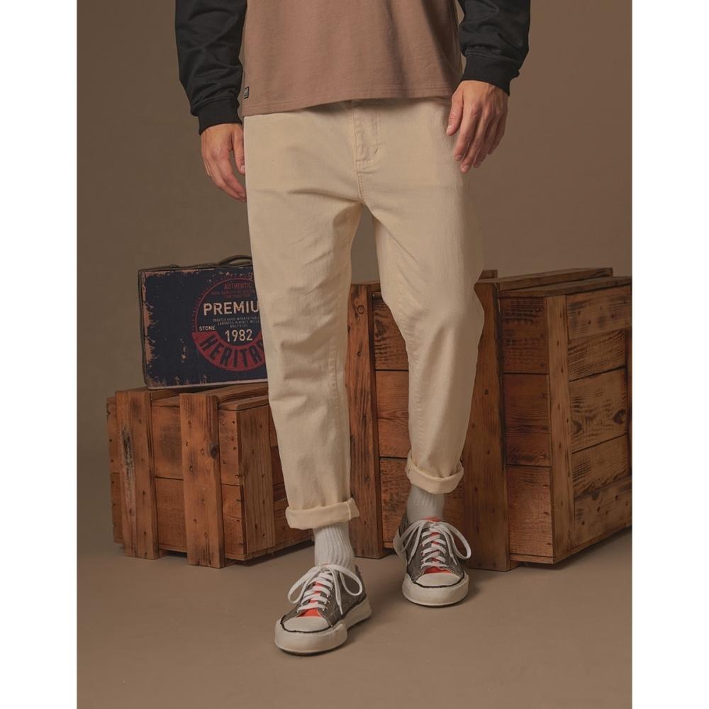 CACO-造型寬版錐形褲(二色)-男【A1AR034】