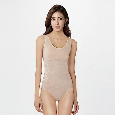 曼黛瑪璉 魔美系列 連身塑身衣 S-XL(優雅膚)