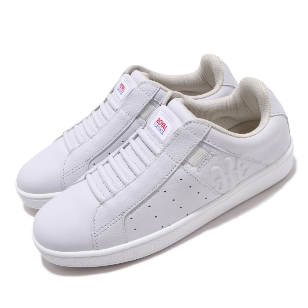Royal Elastics 休閒鞋 Icon Genesis 套腳 穿搭 女鞋 基本款 輕便 舒適 簡約 皮革 紫 白 91902660