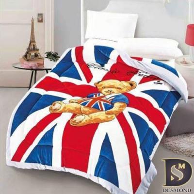 岱思夢 雙面激厚法蘭絨暖暖被 泰迪熊 毛毯 毯被 毯子 被子 棉被 多款任選