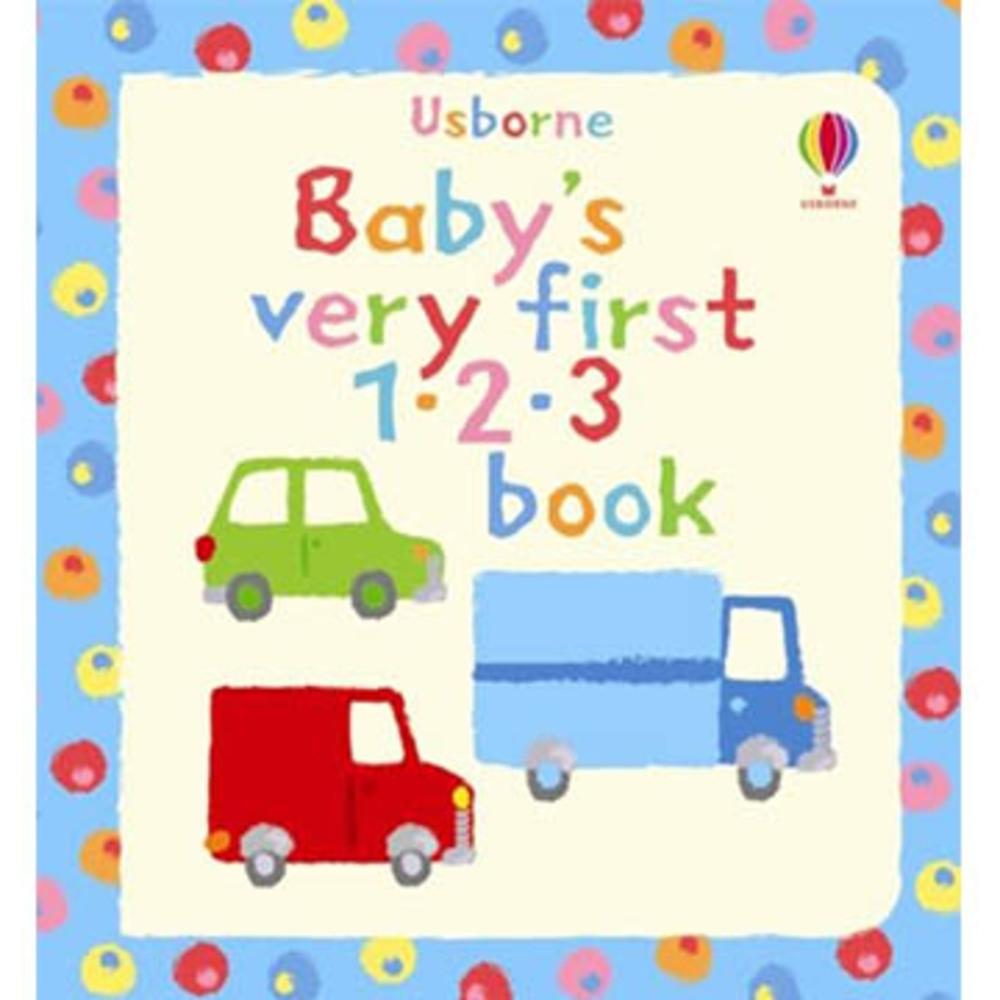 Baby's Very First 1。2。3 Book 寶貝的第一本單字書:數字篇